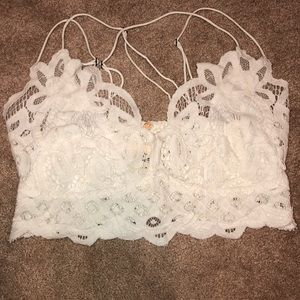NEVER WORN FREE PEOPLE LACE TOP